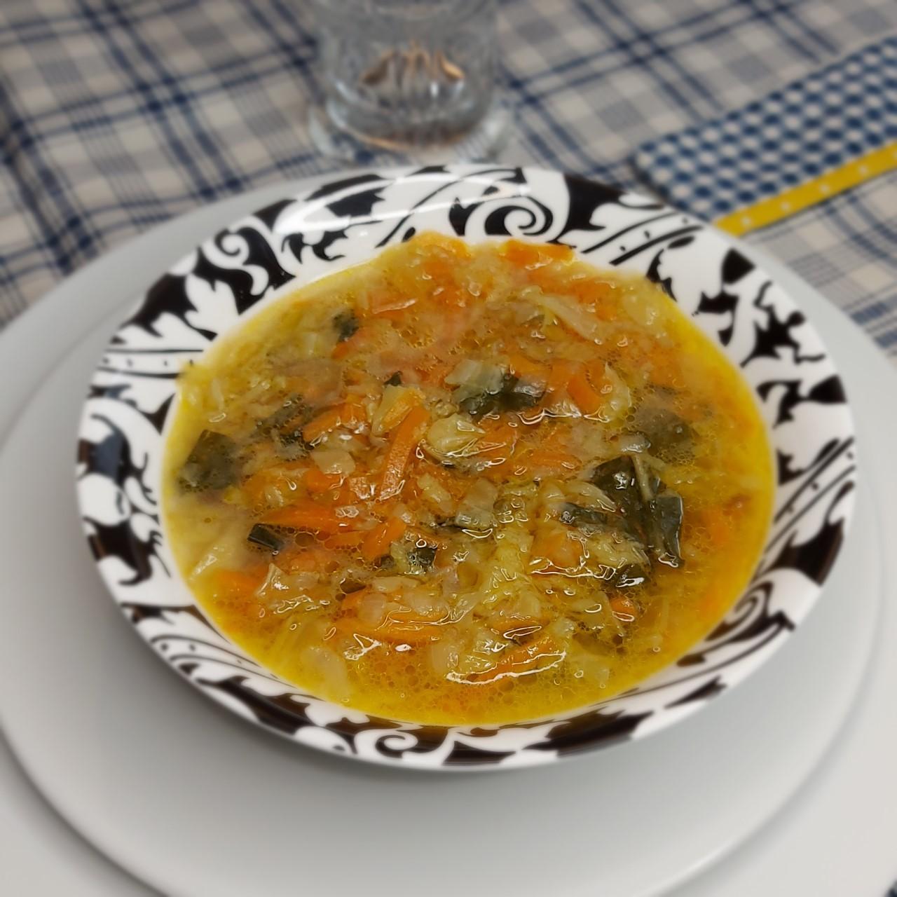 Receta casera de sopa juliana